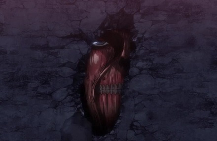 はるのつぶやき-進撃の巨人_壁の中の巨人001