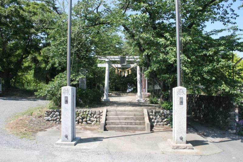 本庄城/稲荷神社