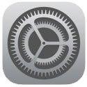 iPhone5s大好き!-iPhone設定ボタン【iOS7】