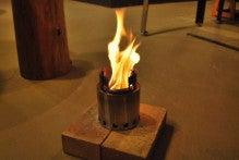 楽園管理人アツシの絵日記-ウッドストーブ 火力 比較 燃焼実験02