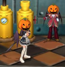 ECO 販売会のお知らせとエミルな日々-かぼちゃ!