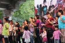 キッズゴスペル&子連れママゴスペル「ネバーランド」音楽と英語に溢れる楽しい親子ライフを♪ [東京]-子供たち2♪