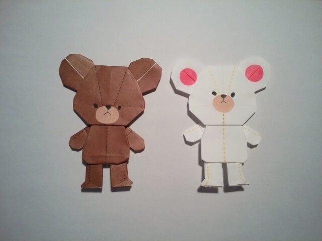ハート 折り紙 折り紙でキャラクター : divulgando.net