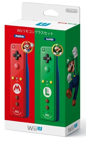 Wiiリモコンプラスセット マリオ・ルイージ
