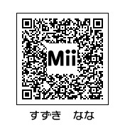 トモダチコレクション (トモコレ) 芸能人 Mii ~作り方(作成画像)~-鈴木奈々qr