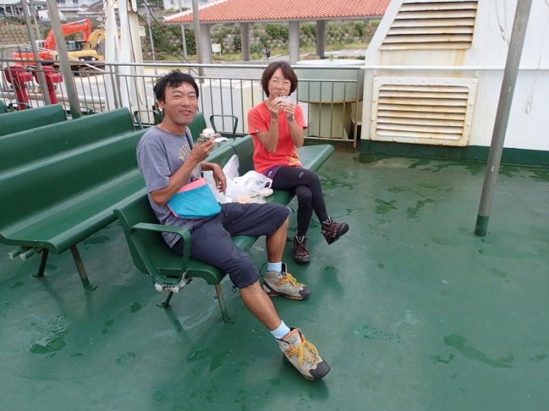 歩き人ふみの徒歩世界旅行 日本・台湾編-フェリーよなくに船上