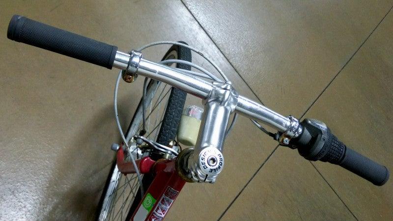 自転車の 自転車 ハンドルロック 修理 : 放置ママチャリを整備して乗る ...