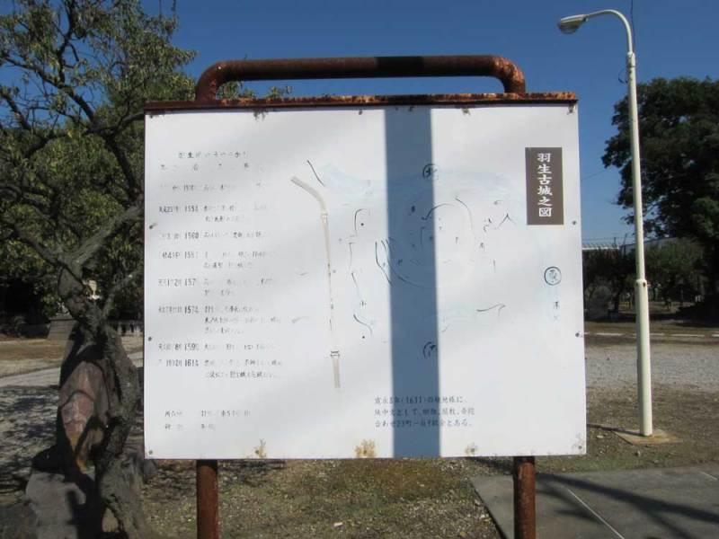 羽生城/②縄張図