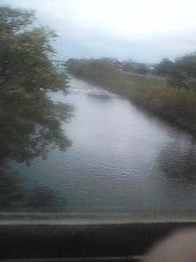 $メイブレラン潟さんのブログ-大野川を渡る