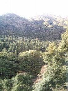 $メイブレラン潟さんのブログ-湯瀬温泉の山並み