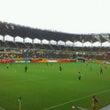 初!サッカー観戦