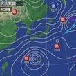 台風27号の進路