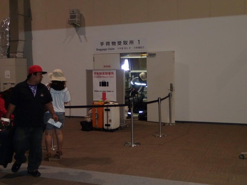 歩き人ふみの徒歩世界旅行 日本・台湾編-荷物手渡し