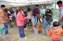 $志賀野ブログ-志賀野冬フェスタ2012-餅つき