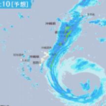 台風27号の動きが遅…