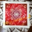 ○【結晶の花モチーフ…