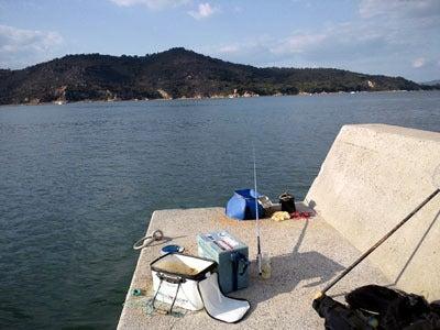 今日も釣り日和ですか・・・牛窓ホットライン