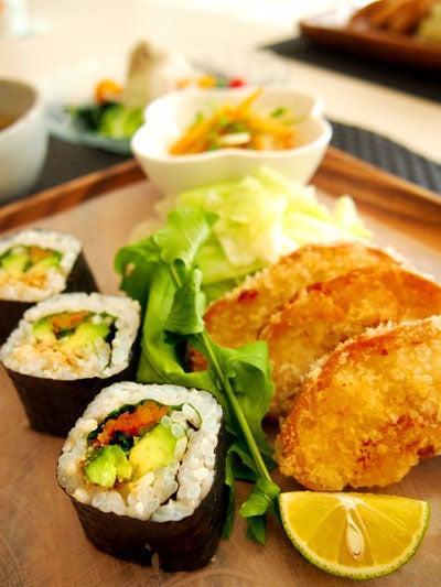 高野豆腐巻き寿司