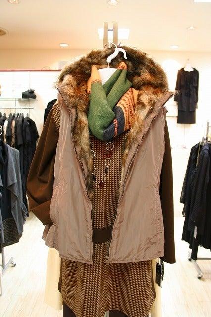 大きいサイズのお洋服        インターハウスのブログ-ベスト単体でも着用できます。