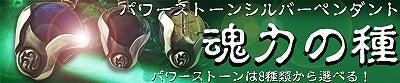 梵字アクセサリー シルバーアクセサリー パワーストーン ペンダント魂力の種(こんりきのたね)シリーズ