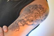 女性彫師BETTYのアトリエ TattooStudio Laruche -1031