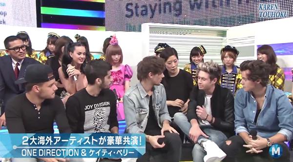 ENTERTAINMENT NOWワン・ダイレクション来日記念!Mステ楽屋でAKB48と即興生歌!