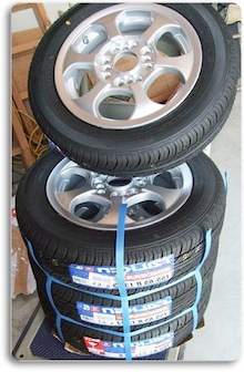 激安タイヤを通販で購入