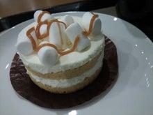 31歳からのスイーツ道#-ホワイトチョコレートマシュマロケーキ.JPG