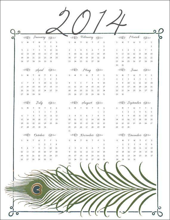 カレンダー 2014年カレンダー ダウンロード : 2014年カレンダー ...