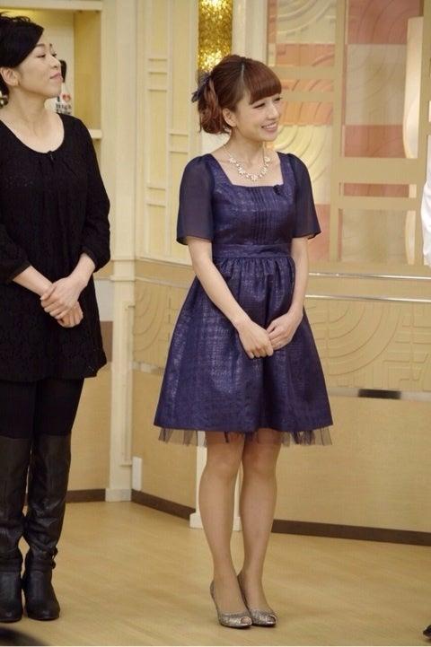 パーティードレス♥ネイビーも! 出典:stat.ameba.jp