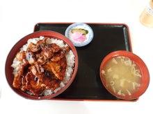 Road to SAROMAN BLUE-二階建て豚丼