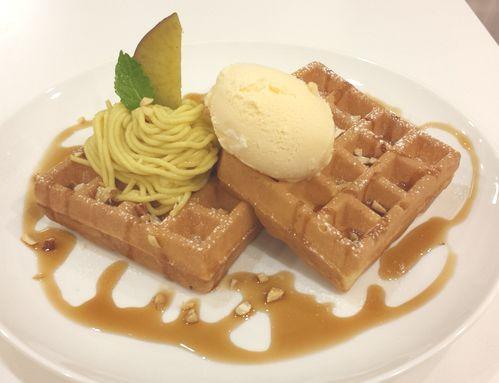 Cafe Yummy Waffle の日記