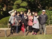 $えっちゃんのブログ-桜花亭のお庭でパチリ