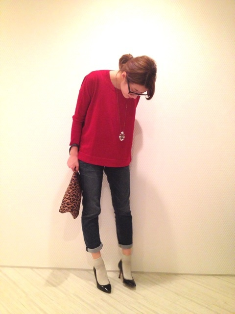 色で乗り切る冬コーデ①|yokoオフィシャルブログ「プチプラコーデ術」Powered by Ameba