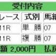11/9メルマガ結果