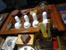 カリブへ行こう!!と思っていたのに中国へ-茶器セット