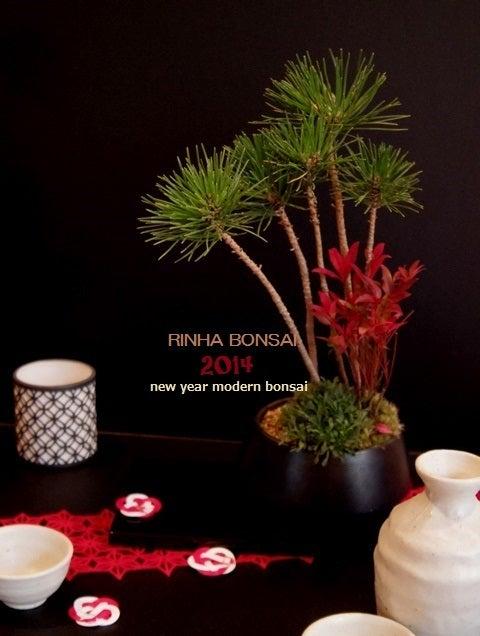 bonsai life      -盆栽のある暮らし- 東京の盆栽教室 琳葉(りんは)盆栽 RINHA BONSAI-琳葉盆栽 お正月 飾り