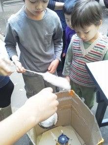 コミュニティ・ベーカリー                          風のすみかな日々-綿菓子2