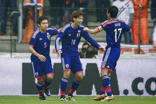 大迫勇也 長谷部誠 サッカー 日本代表 オランダ 引き分け