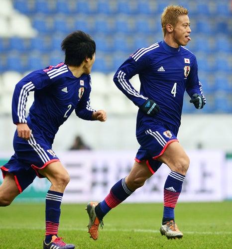 本田圭佑 サッカー 日本代表 オランダ 引き分け