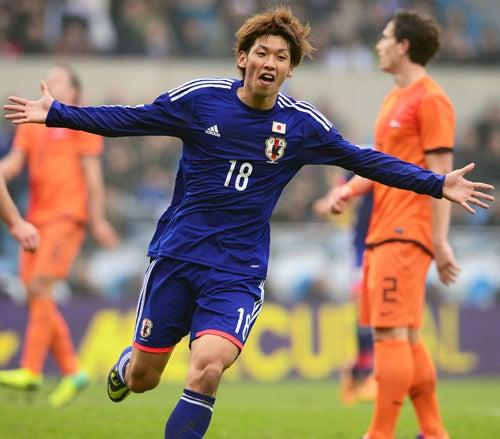 大迫勇也 サッカー 日本代表 オランダ 引き分け