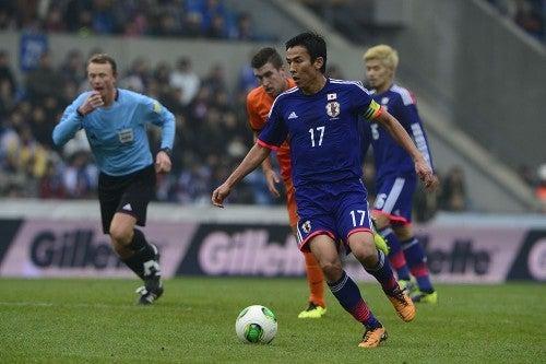 長谷部誠 サッカー 日本代表 オランダ 引き分け