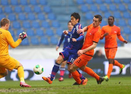 香川真司 サッカー 日本代表 オランダ 引き分け