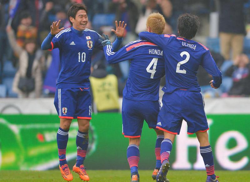 香川真司 本田圭佑 内田篤人 サッカー 日本代表 オランダ 引き分け