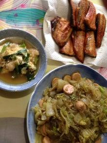 $burariのブログ-10月カレー味野菜炒め他