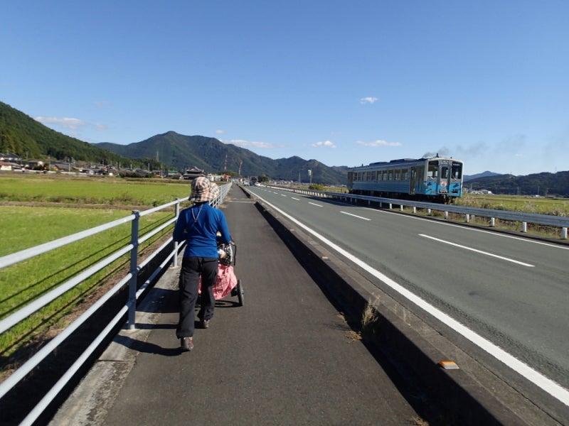 歩き人ふみの徒歩世界旅行 日本・台湾編-汽車