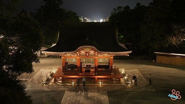 $(足跡の足跡)めんたる系-鶴岡八幡宮