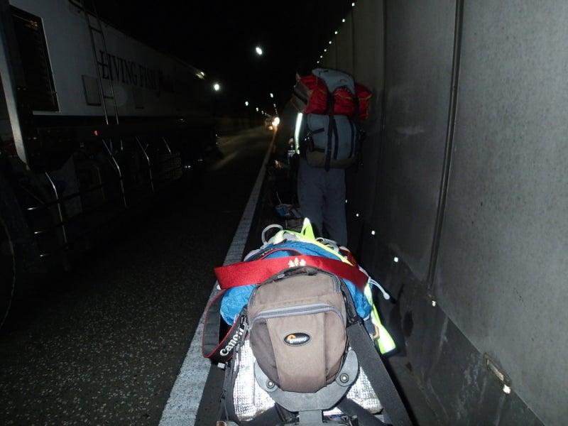歩き人ふみの徒歩世界旅行 日本・台湾編-トンネル内