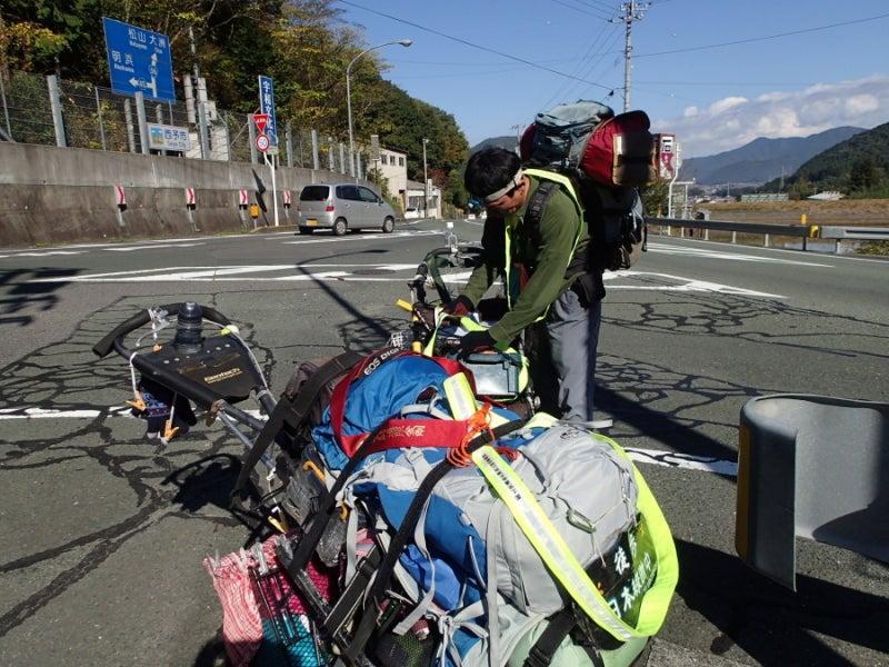 歩き人ふみの徒歩世界旅行 日本・台湾編-トンネル装備