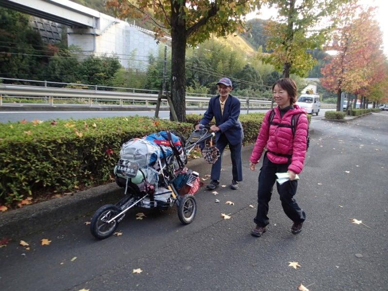 歩き人ふみの徒歩世界旅行 日本・台湾編-助っ人